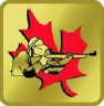 Gold Marksmanship Competition pin